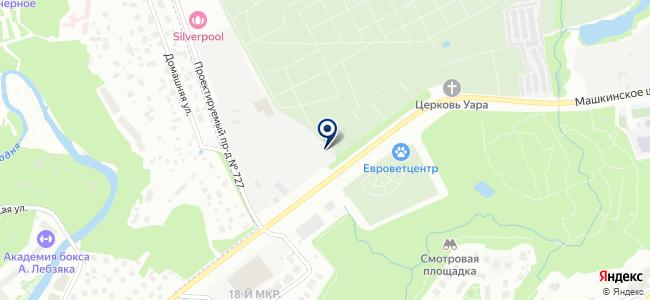 Феникс лайт+ на карте