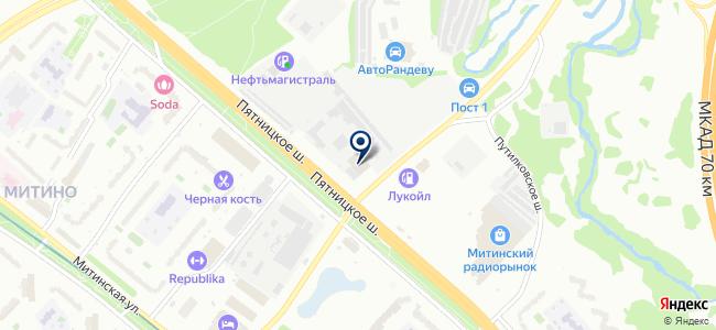 ФБН сервис на карте