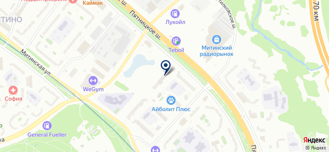Электрополюс, ООО на карте