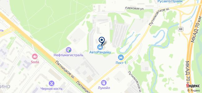 Транзистор, ООО на карте