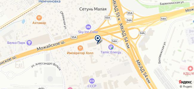 ВСК-Электро на карте