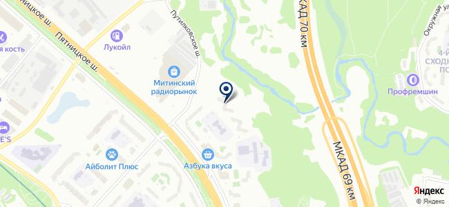 ИнтерЭлектроПроф на карте