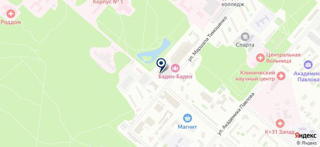 ТОП Энерго на карте