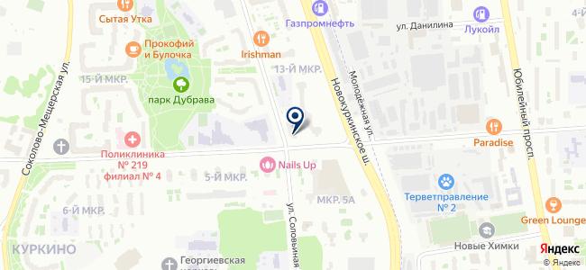 Электропоставка на карте