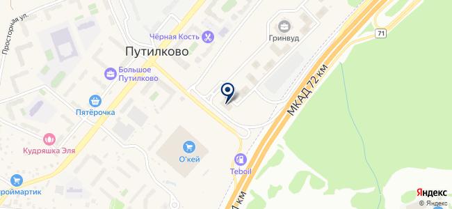 ValLight на карте