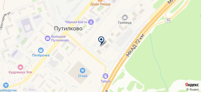 СаутГрупп на карте