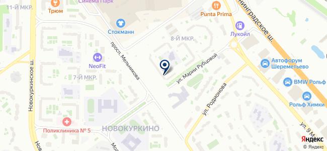 Альфа-Электротехторг на карте