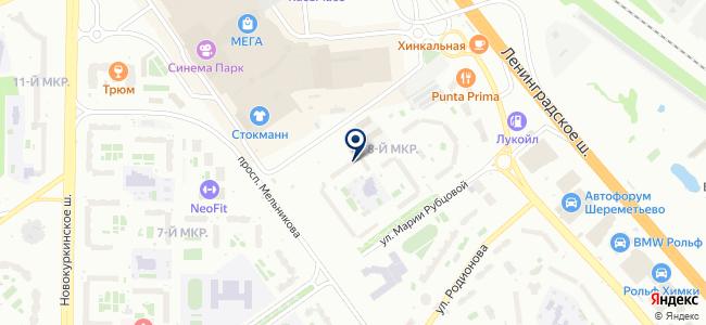 Эс ИмпЭкс на карте