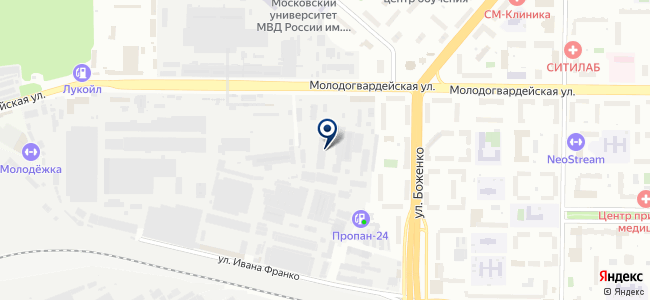 Пром-Снаб на карте