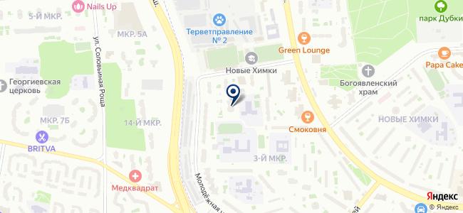 ССМУ-52, ЗАО на карте