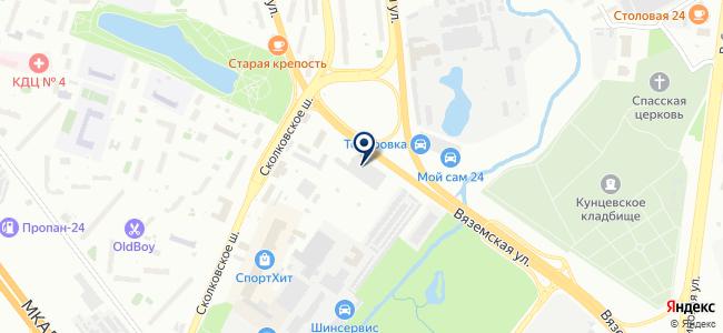 Мосавтохолод, ГУП на карте
