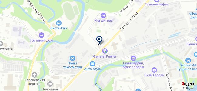 Генерал Энерго на карте