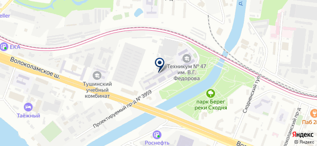 ПРОИЗВОДСТВЕННО-КОММЕРЧЕСКАЯ ФИРМА АВАНГАРД, ЗАО на карте