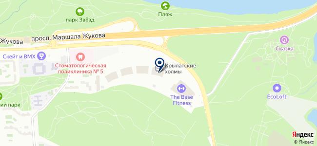 ГОРСВЯЗЬСТРОЙ на карте