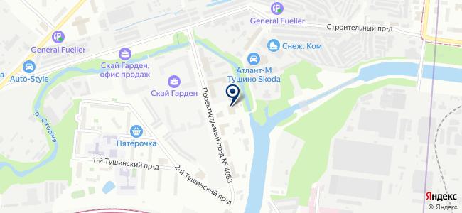 ФинКонТех на карте