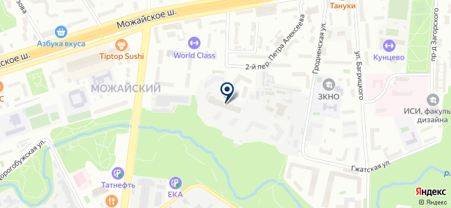 ЭкоТрейд на карте