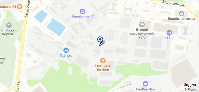 АКВИС на карте
