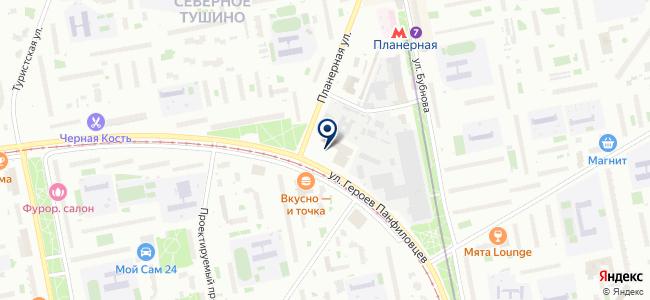 ГрандИнтерЛайт на карте