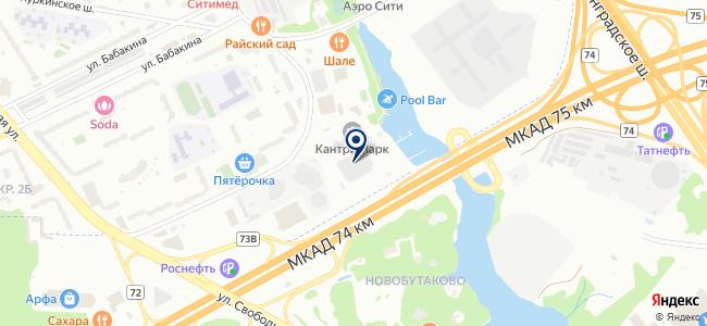 Магни на карте