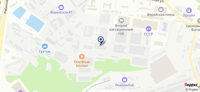 БУТИС на карте