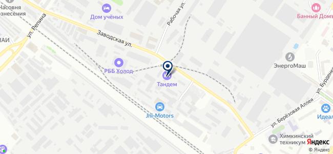 ТеплоСнаб на карте