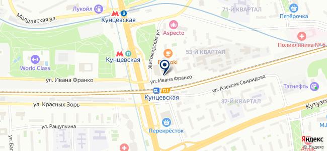 Гевисс на карте