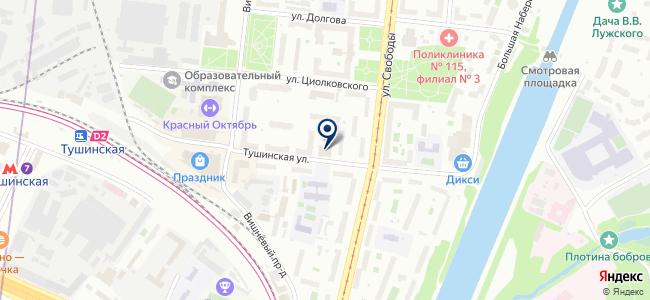РусАвтоКарт, ООО на карте