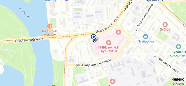 Электроника-дизайн на карте