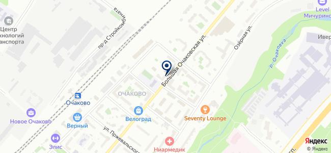 Русевросвет на карте