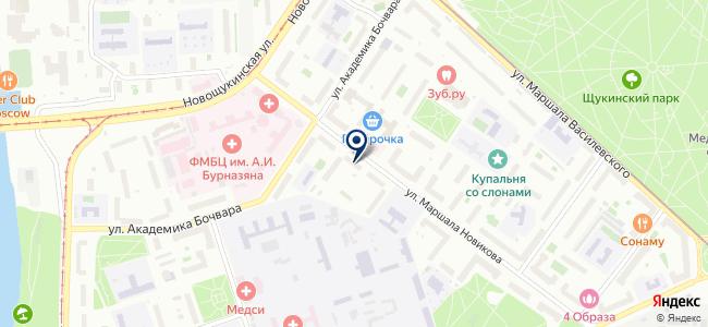 Научно-технический центр по энергосбережению на карте