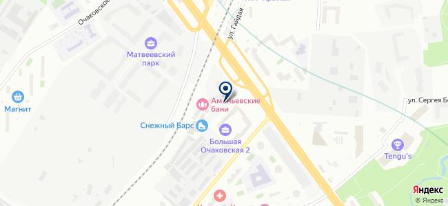 Альфа-Электро на карте