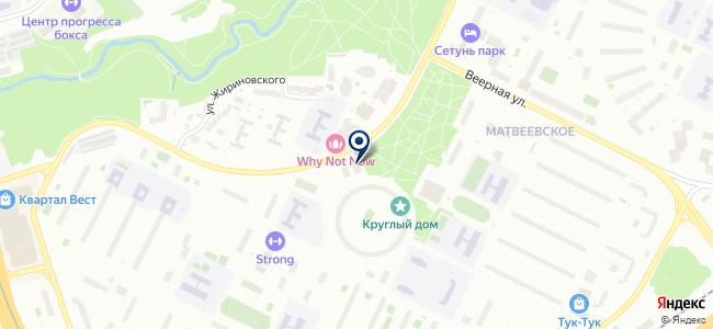 На Матвеевском на карте