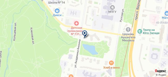 Тепло-Арт на карте