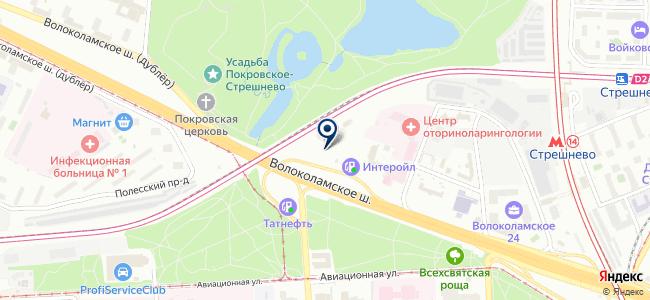 СТРОММИКС на карте