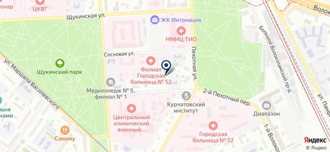 Диапак на карте