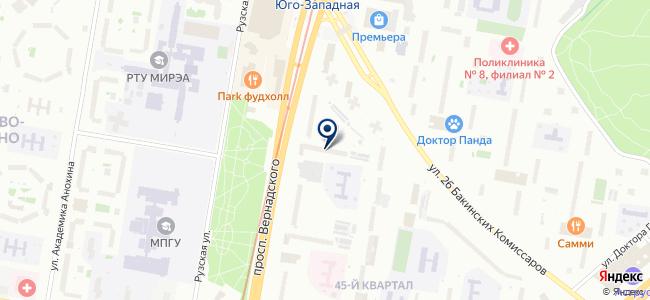 Электростекло на карте