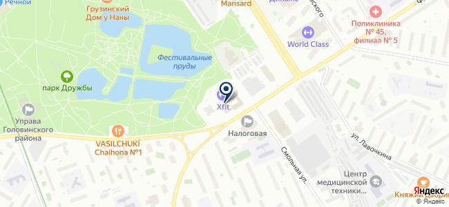 Клорайд Рус на карте
