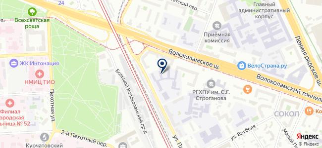 Razsvet.ru на карте