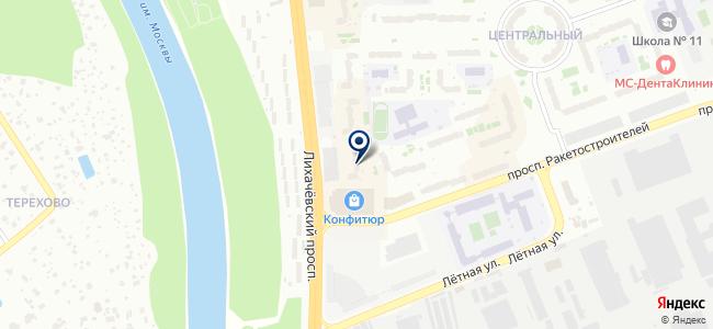 ДолЭлектро на карте