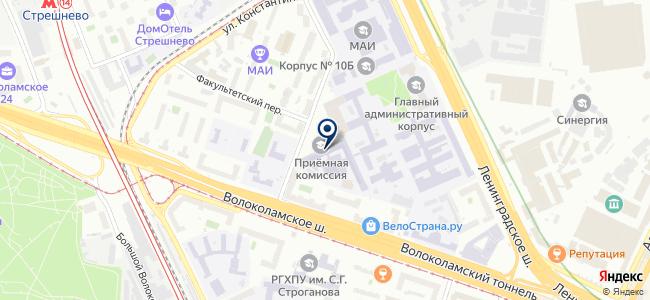 ПРИН, ЗАО на карте