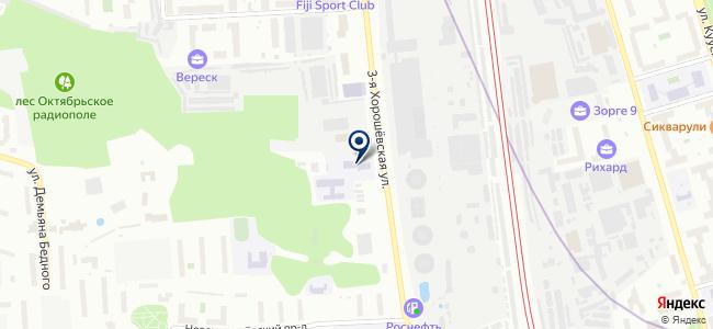 СУПР, ЗАО на карте