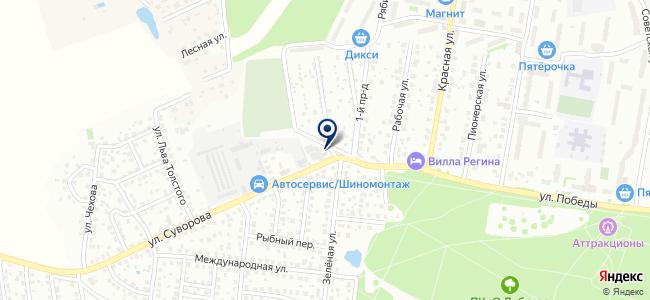 Климовский кабельный завод, ООО на карте