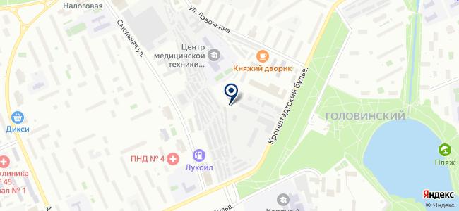 Автосервис-САО на карте