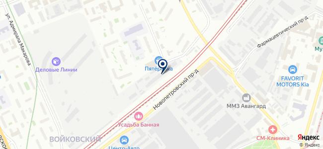 Дана Эко на карте