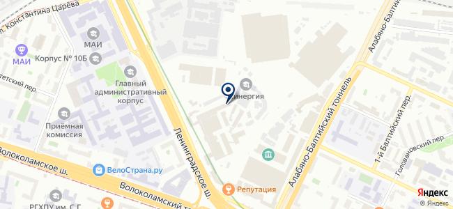 Энерпром-Электроникс на карте