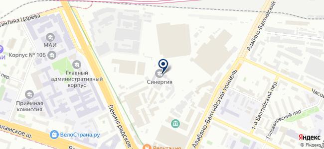 Безар-Импер на карте