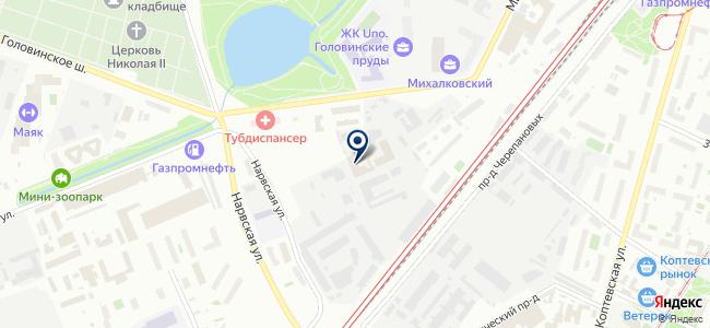 Гарантэнерго на карте