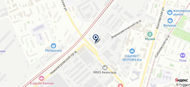 ПромС на карте