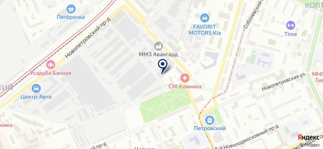 Сервотехника, ЗАО на карте