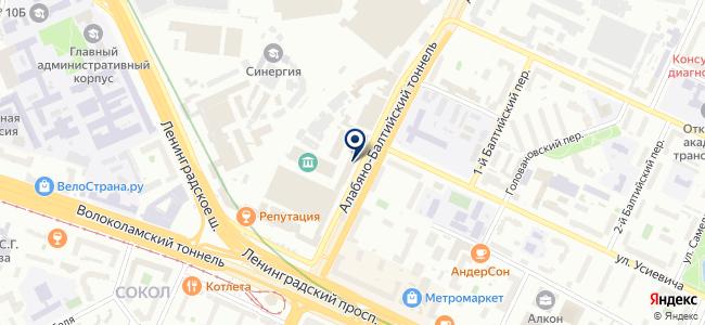 Контакт Электрон, ООО на карте